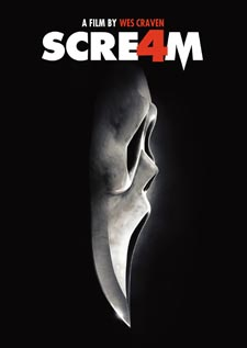 Scream 4 DVD Flat