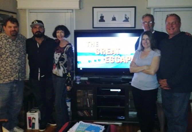 From Left to right: Ed Peters, Hector S Quintana, Melinda Giordano, Sue Procko, John Lavery, Scott Barton